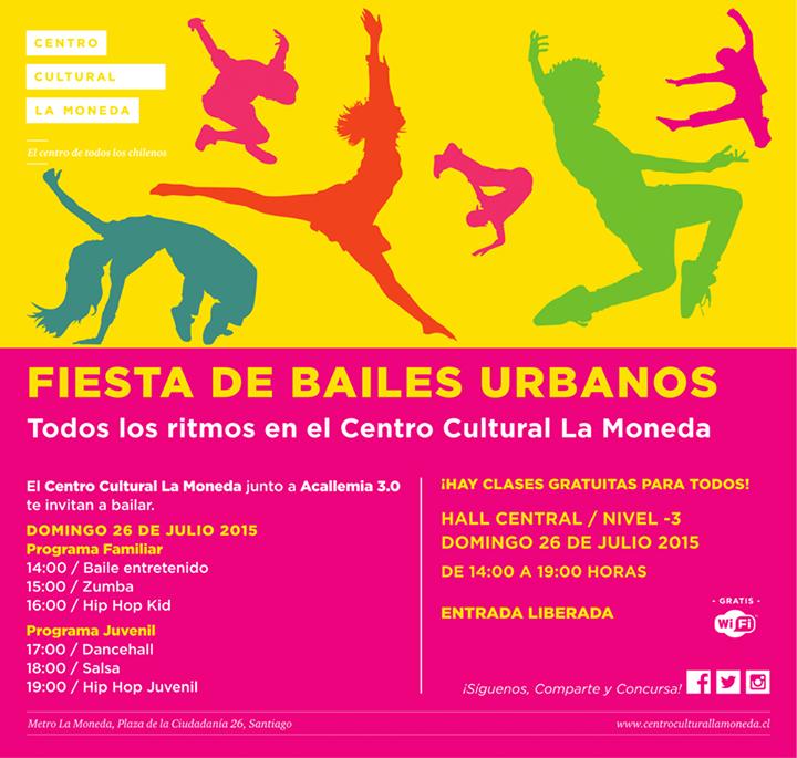 Fiesta de bailes urbanos en CCPLM