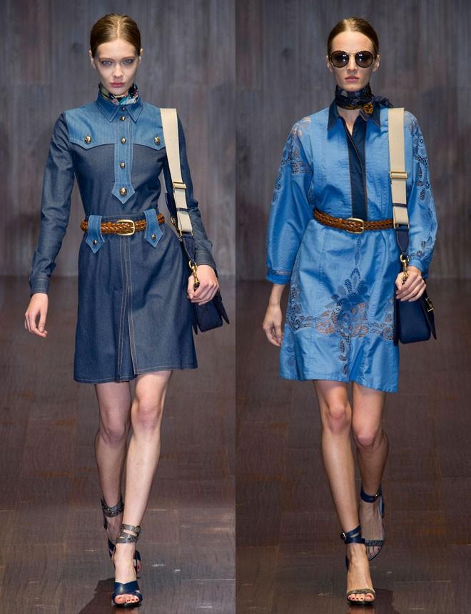 Vestidos Gucci.