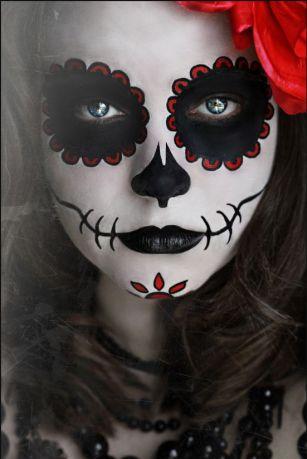 Halloween Makeup - Catrina