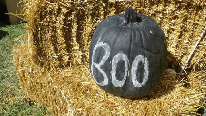 Calabaza pizarra Halloween