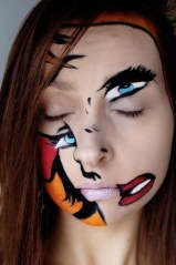 Halloween Makeup - Abstracto