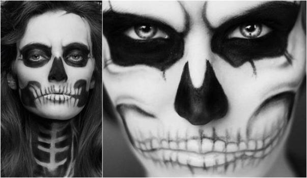 Halloween Makeup - Miedo