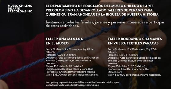 TALLERES-DE-VERANO-MUSEO-PRECOLOMBINO