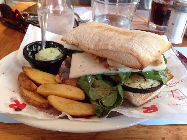 Sandwich Queso de Cabra