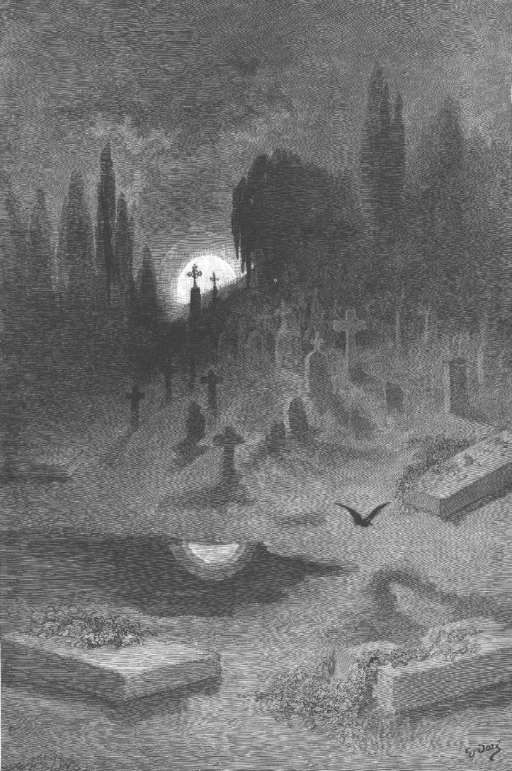 POE - The Raven, Gustave Doré