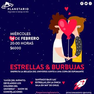 Planetaria día del amor
